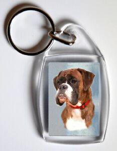 Boxer Dog Key Ring By Starprint