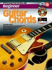 PROGRESSIVE BEGINNER GUITAR CHORDS + CD & DVD*