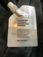 Acure Resurfacing Glycolic Unicorn Root Cleanser 0.67oz New Sealed x1