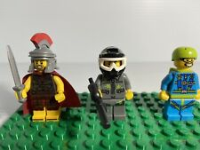 Lego Minifigures Skydiver Roman Soldier Paintball Player Series 10
