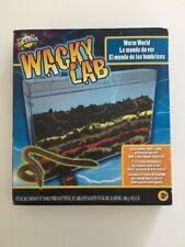 New Open Box Edu Science Wacky Lab - Worm World Model:12032012 #5F602F5