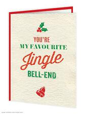 Brainbox Candy Jingle Bell Ende Weihnachtskarte lustig Humor Freche Spass
