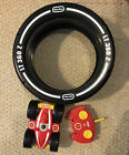 LITTLE TIKES CHILDRENS REMOTE CONTROL TIRE ROTATE TWISTER RC CAR LT 360 Z