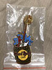 Hard Rock Cafe Vintage NIAGARA FALLS CANADA Guitar in Barrel Pin