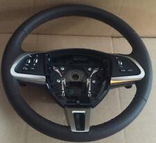 Genuine Jaguar XK, XF, XFR, XKR Brown Leather Steering Wheel