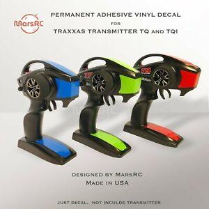 Decal for Transmitter Remote Sticker/Vinyl Skin Wrap TRAXXAS TQ/TQi MarsRC
