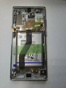 Samsung galaxy Note 10+ LCD Touch Screen Digitizer + Frame OEM N975 Glow Silver