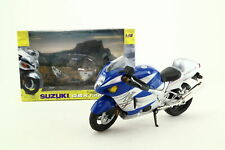 Joy City 6002 1:12 Scale; Suzuki GSX 1300R; Blue & Silver; Excellent Boxed