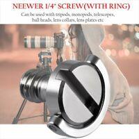 1//4 inch stainless steel long screw SLR camera tripod PTZ screw word screw H