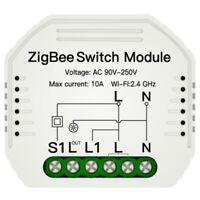 Tuya ZigBee 3.0 Smart Lichtschalter Modul Smart Life Kabellos Fernbedienung B9P8