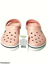 New CROCS Croc Band II Size Women's 8 Men's 6 Pink Clogs