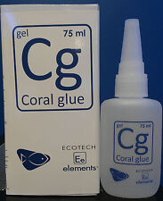 EcoTech Marine Elements Cg Coral Glue 75ml Fragging Propagation Live Rock Tank