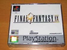 Sony Ps1 Final Fantasy 9 IX PAL Platinum