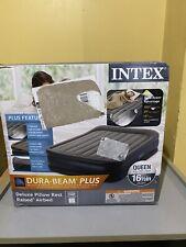 Intex Comfort Plush 64417EP Elevated Dura-Beam Airbed