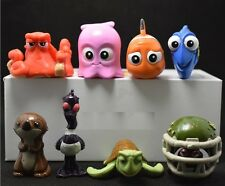 Finding Dory Finding Nemo Figures Pvc Cake Topper Toy 8pcs figure *Usa seller*