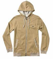 Fourstar Mike Carroll Men's Zip Hoody Sweatshirt Beige- Large