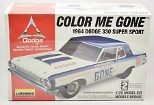 Color Me Gone 1964 Dodge 330 Super Sport New Sealed Model Kit Lindberg 1:25 1996