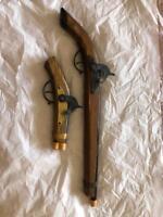 Vintage Cowboy Western Toy Weapon Lot Great Toy Find w/ orange safety tip