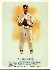 2010 Topps Allen and Ginter Baseball #291 Ron Teasley Negro League Baseball