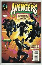AVENGERS #392 1995 THE CROSSING TIE-IN!! IRON MAN CROSS OVER!! HIGH GRADE!! NM-
