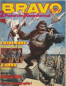 Bravo-Heft Nr.8 aus dem Jahr 1976 / King Kong