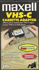 Maxell VHS-C Cassette Adapter - Previously Used