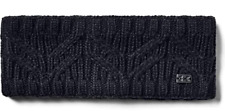 NWT Under Armour Womens UA Around Town Headband OSFA Black MSRP$25