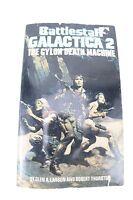 Battlestar GALACTICA 2-Cyclon Death Machine:Larson Thurson VTG Paperback Book