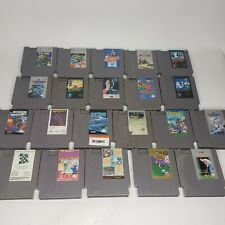 Nintendo NES Game Lot Of 21