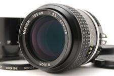 """Mint"" Nikon Ai Nikkor 105mm F/2.5 Prime MF Lens w/ Hood Case From Japan D447"