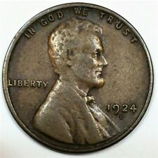 1924-D Lincoln Wheat Cent Penny Beautiful Coin Rare Date