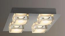 JOHN LEWIS ARLO LED BATHROOM  CEILING LIGHT  CHROME RRP £125
