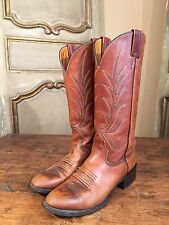 Vintage Nocona Custom Western Cowboy Boots Billy Martins NYC Mens Size 6.5 B