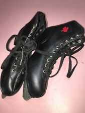 Black Ice Skates Size 3 Junior