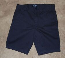 Childrens Place Boys Navy Uniform School Shorts Size 10 Husky