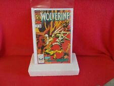 "MARVEL COMIC BOOK FROM 1989, ""WOLVERINE"" ISSUE # 9, NEAR MINT CONDITION ........"