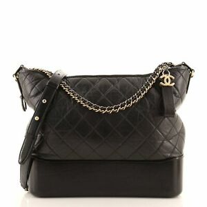 Chanel Gabrielle Hobo Quilted Aged Calfskin Medium