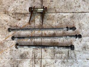 Yamaha R5 350 Used Original Set Engine Mount Bolts