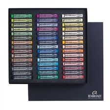 Rembrandt Artists Soft Pastel Set - Full Size Pastels - 45 Colours