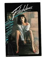 """Post Card c. 1983 Flash Dance Jennifer Beals Famous Chair Pose """" What A Feeling"""""""