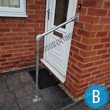 Outdoor Metal Handrail Adjustable Rail Mobility Handrail Doorstep Safety 34mm B