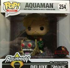 FUNKO POP 254  Aquaman Deluxe Jim Lee