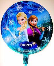 "NEW FROZEN Elsa and Anna round foil balloon 18"" (45cm) birthday party AU Seller!"