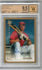 1999 TOPPS TRADED AUTO ADAM DUNN RC BGS 9.5 W/ 10 OAKLAND!