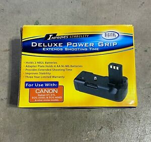New Digital Concepts Canon Deluxe Power Grip Battery Rebel XT, XTI, EOS 350D,...