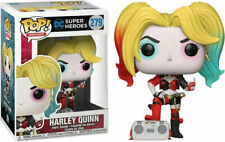 Exclusive Harley Quinn with Boombox Rebirth Funko Pop Vinyl New in Box In Hand