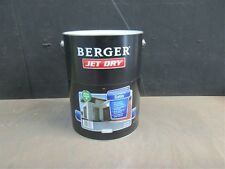 BERGER BY DULUX 10 LITRE JET-DRY SATIN  PAVING WATER/BASE EXTRA DEP COLOUR PAINT