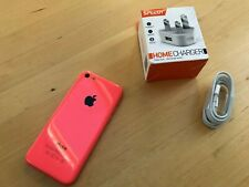 Apple iPhone 5c - 8GB - Orange / Red Smartphone on O2 network