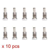 10 x SILVER Bottom Screws Pentalobe Screw set for Apple iPhone 8, iPhone 8 Plus