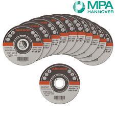 50 disques fins à tronçonner l'acier inox Ø 115mm x 1mm Métau pour Meuleuses